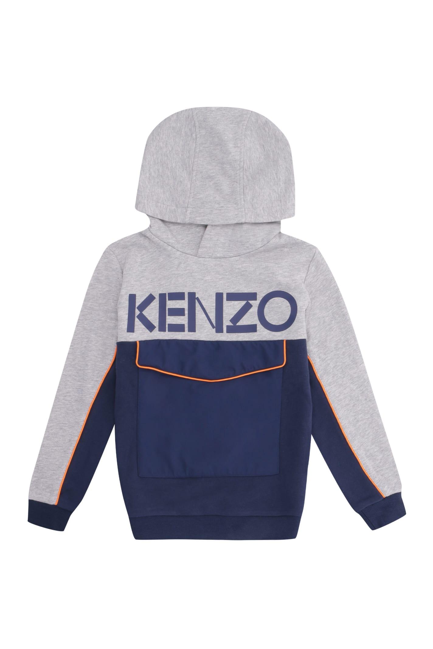 Kenzo Kids Printed Hoodie