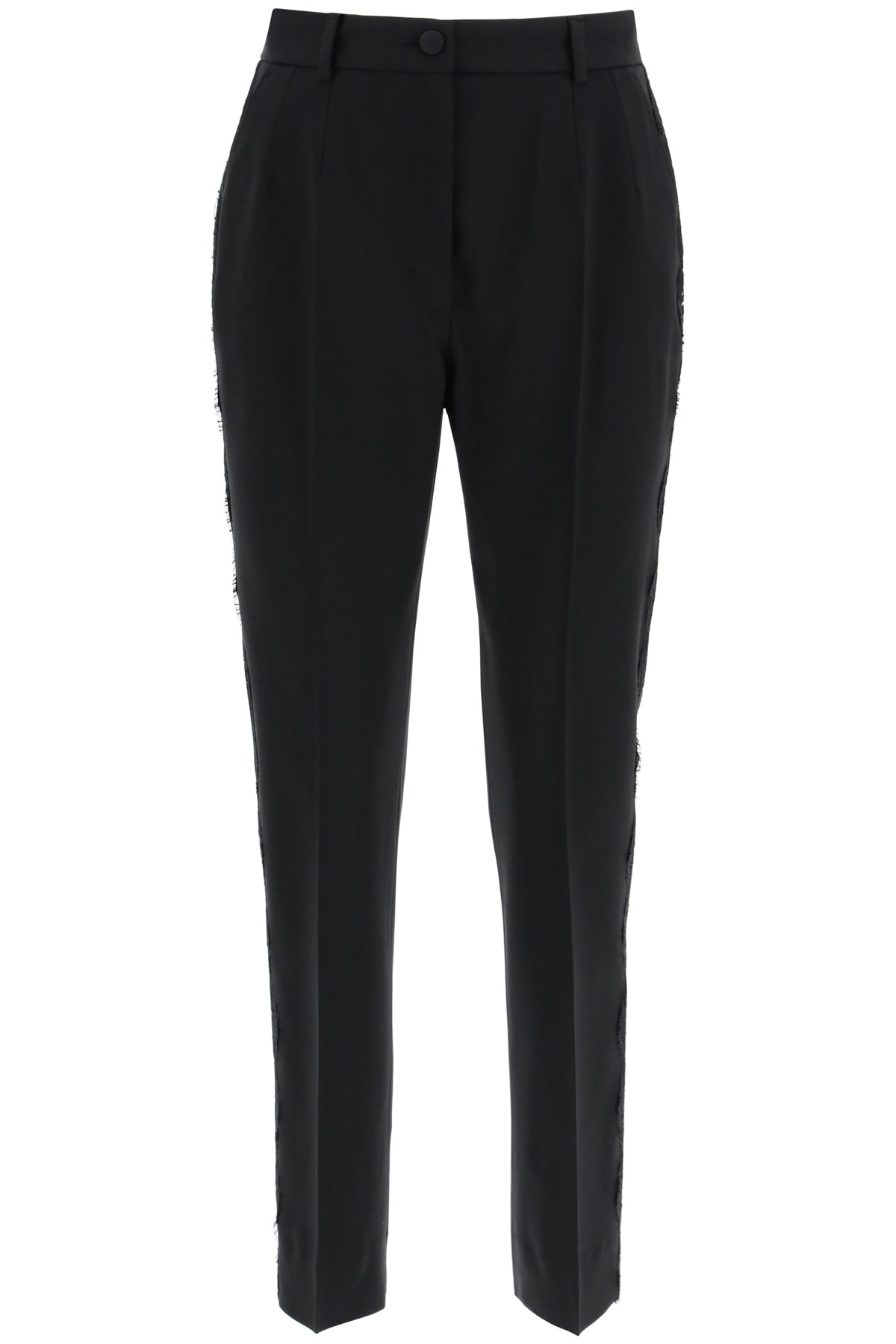 Dolce & Gabbana Trousers With Lace Band
