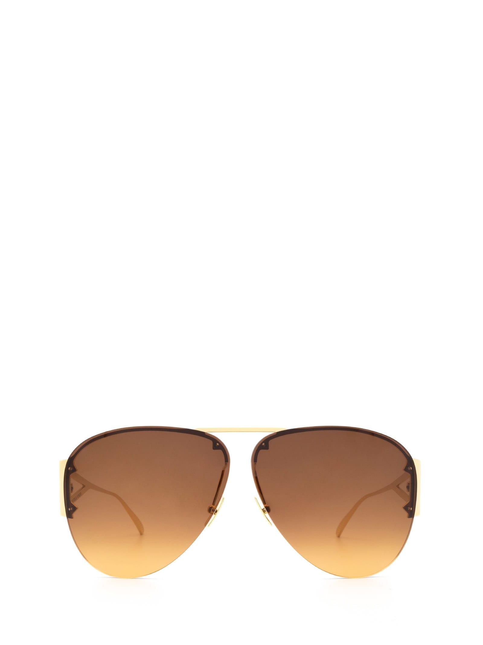 Bottega Veneta Bottega Veneta Bv1065s Gold Sunglasses
