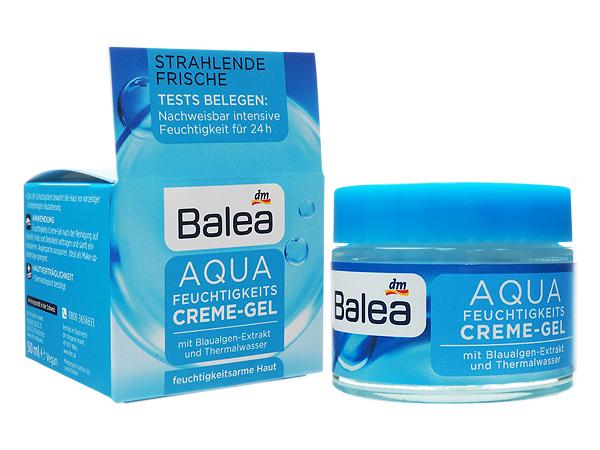德國 Balea~AQUA藍藻保濕凝膠日霜(50ml)【D473622】