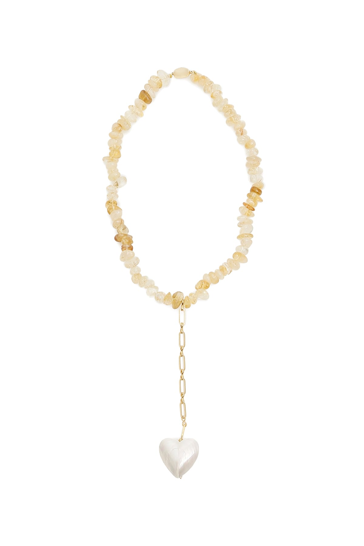 Timeless Pearly Quartz Necklace