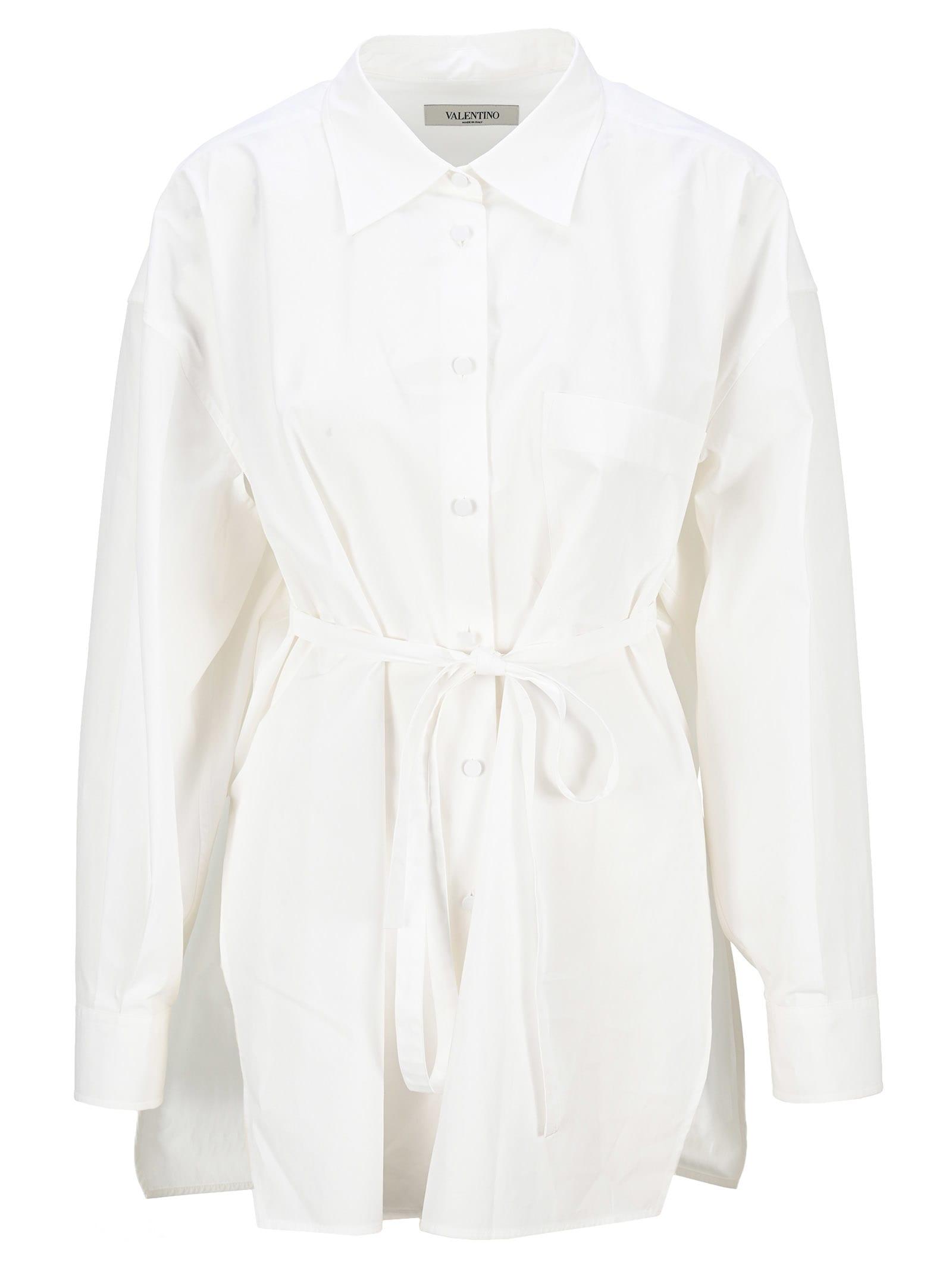 Valentino Oversize Cotton Poplin Shirt