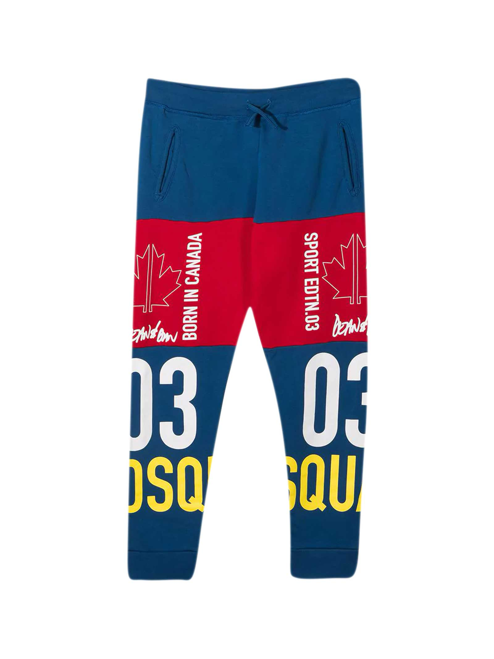Dsquared2 Blue Teen Joggers