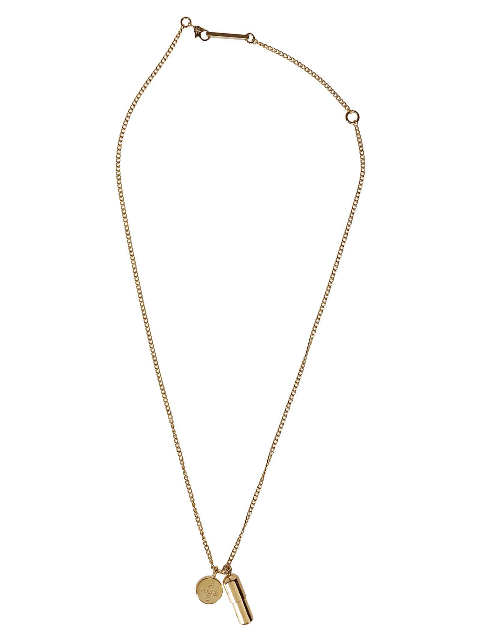 AMBUSH Gold-tone Silver Necklace
