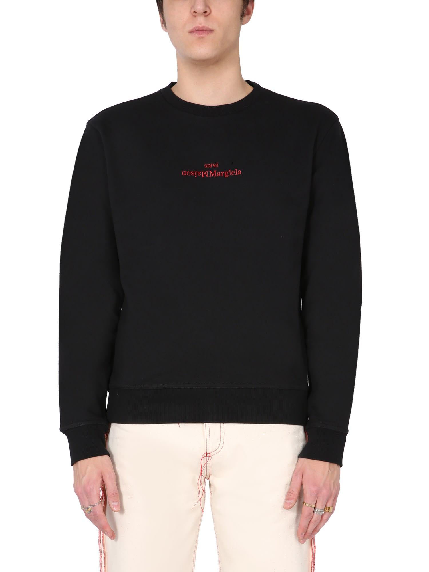 Maison Margiela Sweatshirt With Embroidered Logo