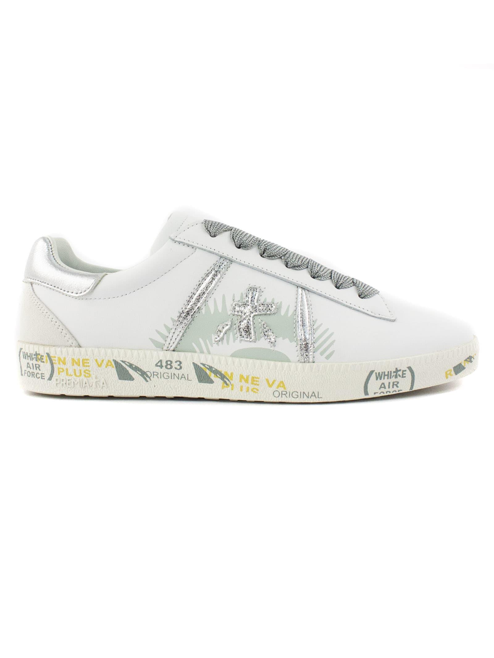 Premiata White Andy Sneaker