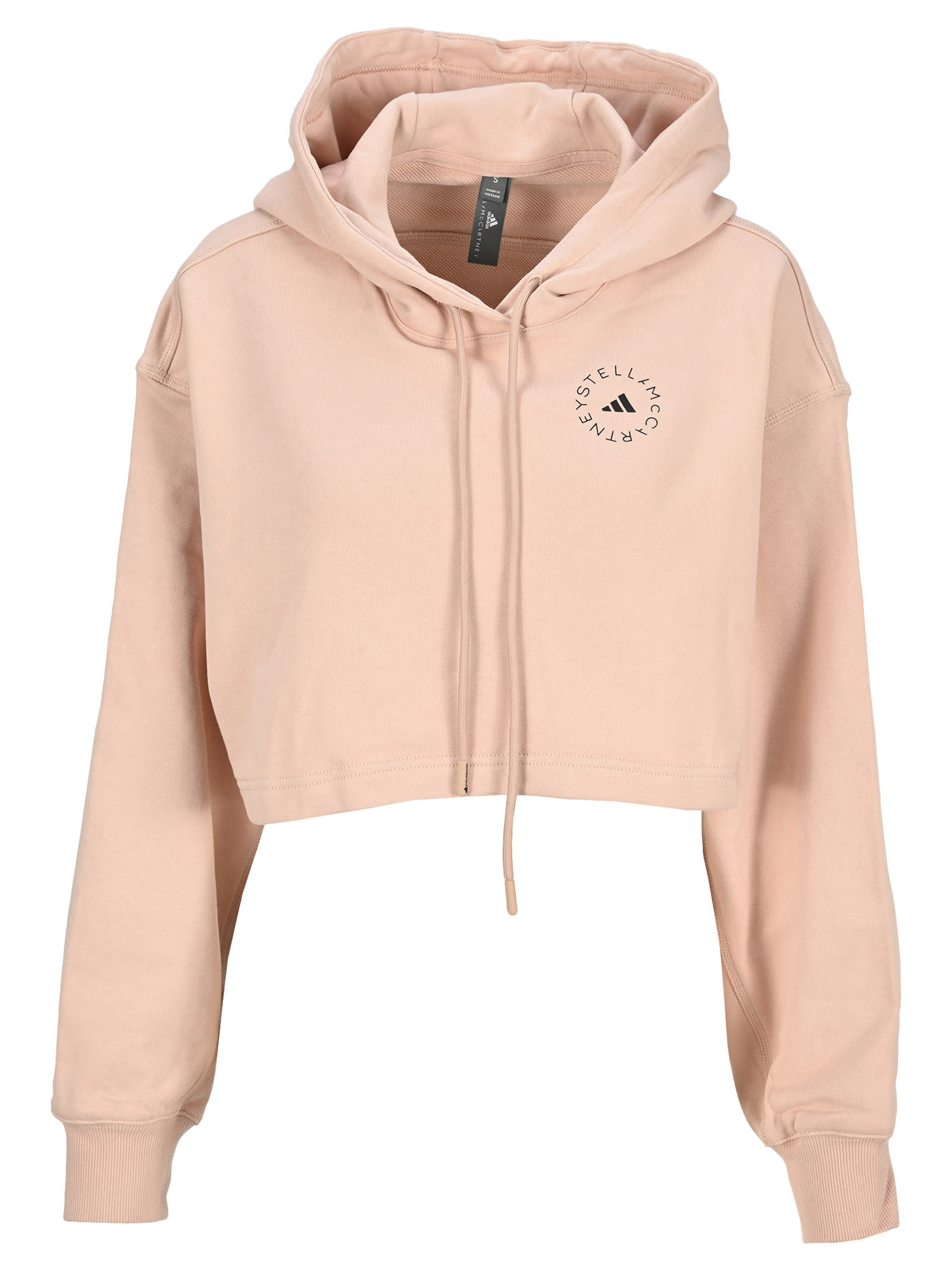 Adidas By Stella Mccartney Rose Crop Hoodie