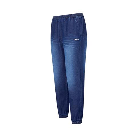 FILA 牛仔長褲-藍色 1PNV-1478-BU