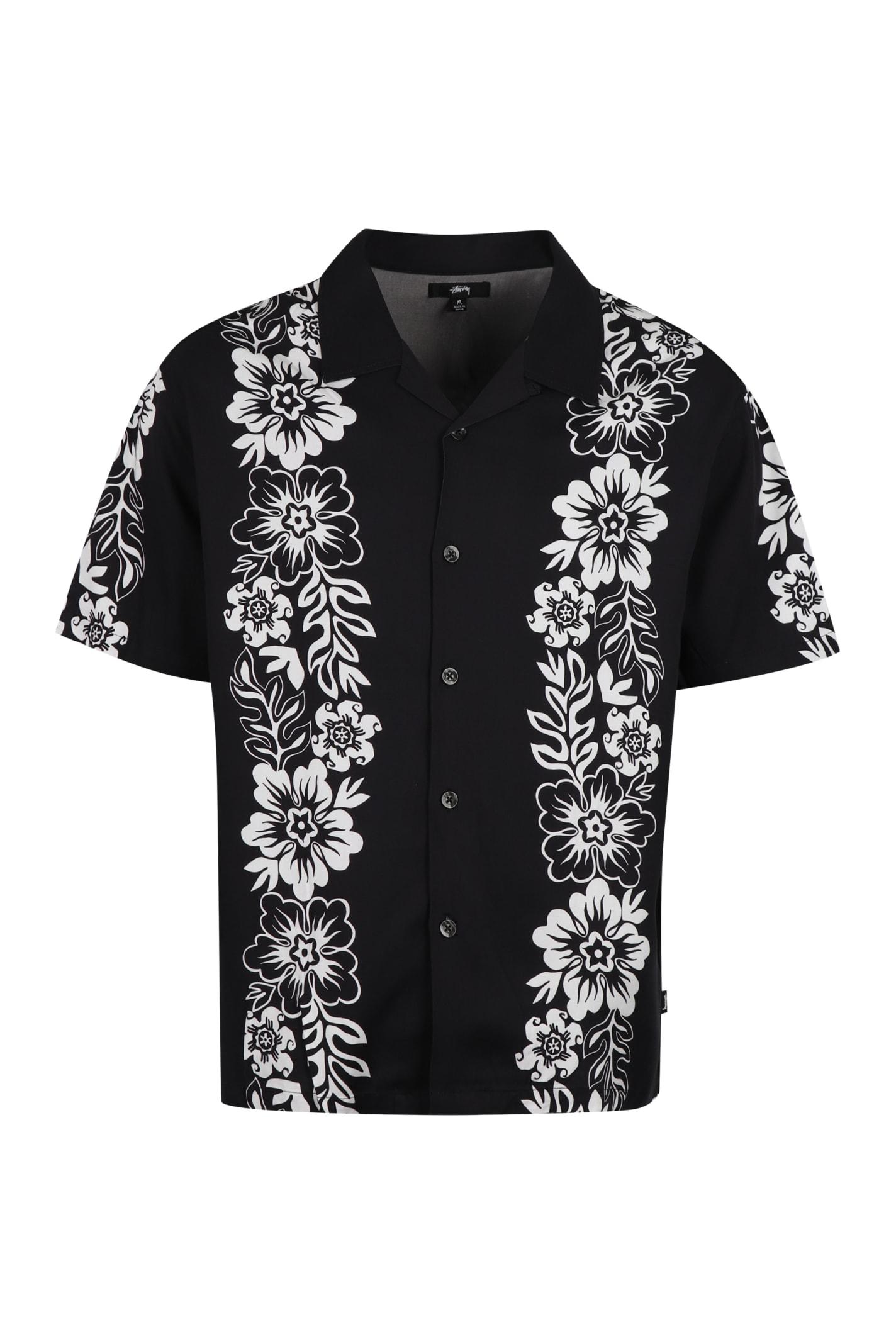 Stussy Printed Short Sleeve Shirt