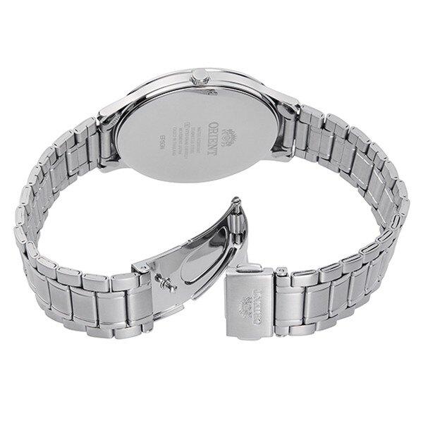 ORIENT東方錶(RF-QD0012S)CONTEMPORARY系列鋼帶現代腕錶/白面39mm
