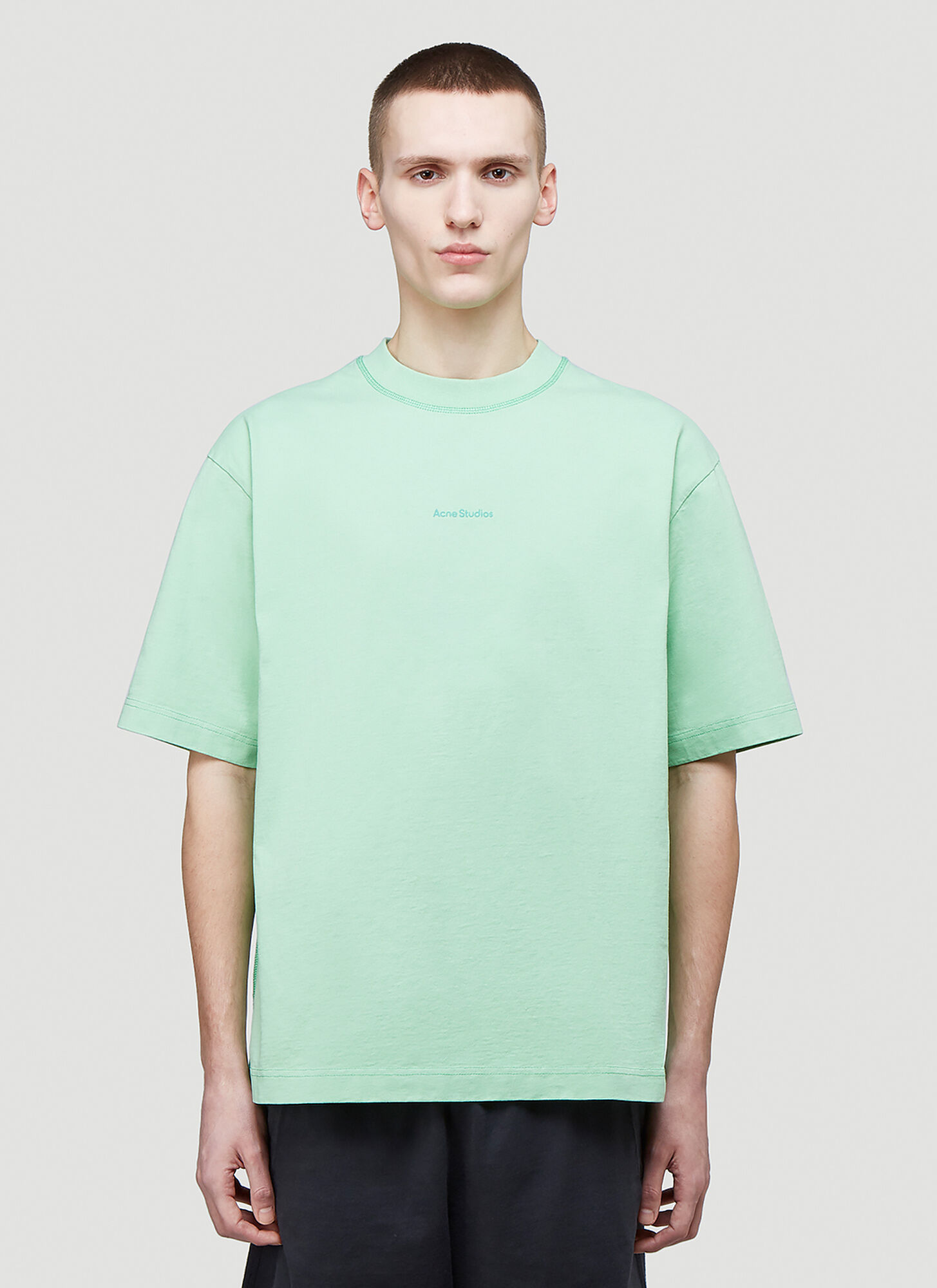 male Green 100% Cotton. Dry clean.