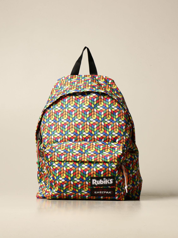 Eastpak Backpack Padded Pakr Rubiks Gray Eastpak Backpack