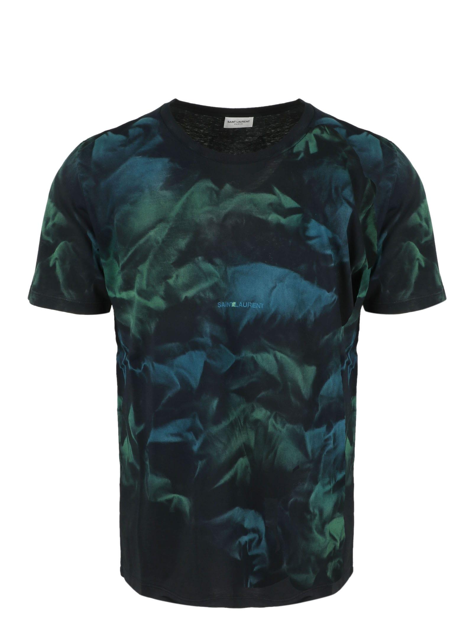 Saint Laurent Tye-dye T-shirt