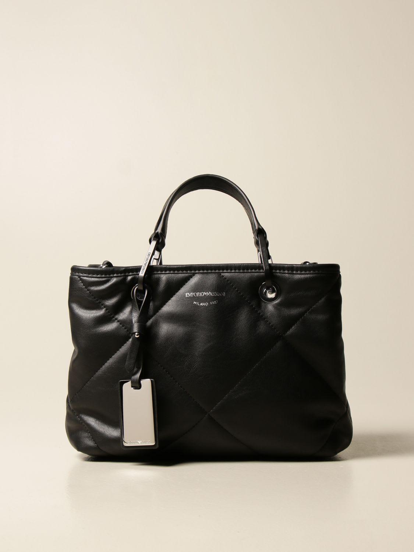 Emporio Armani Handbag Emporio Armani Shopping Bag In Synthetic Nappa