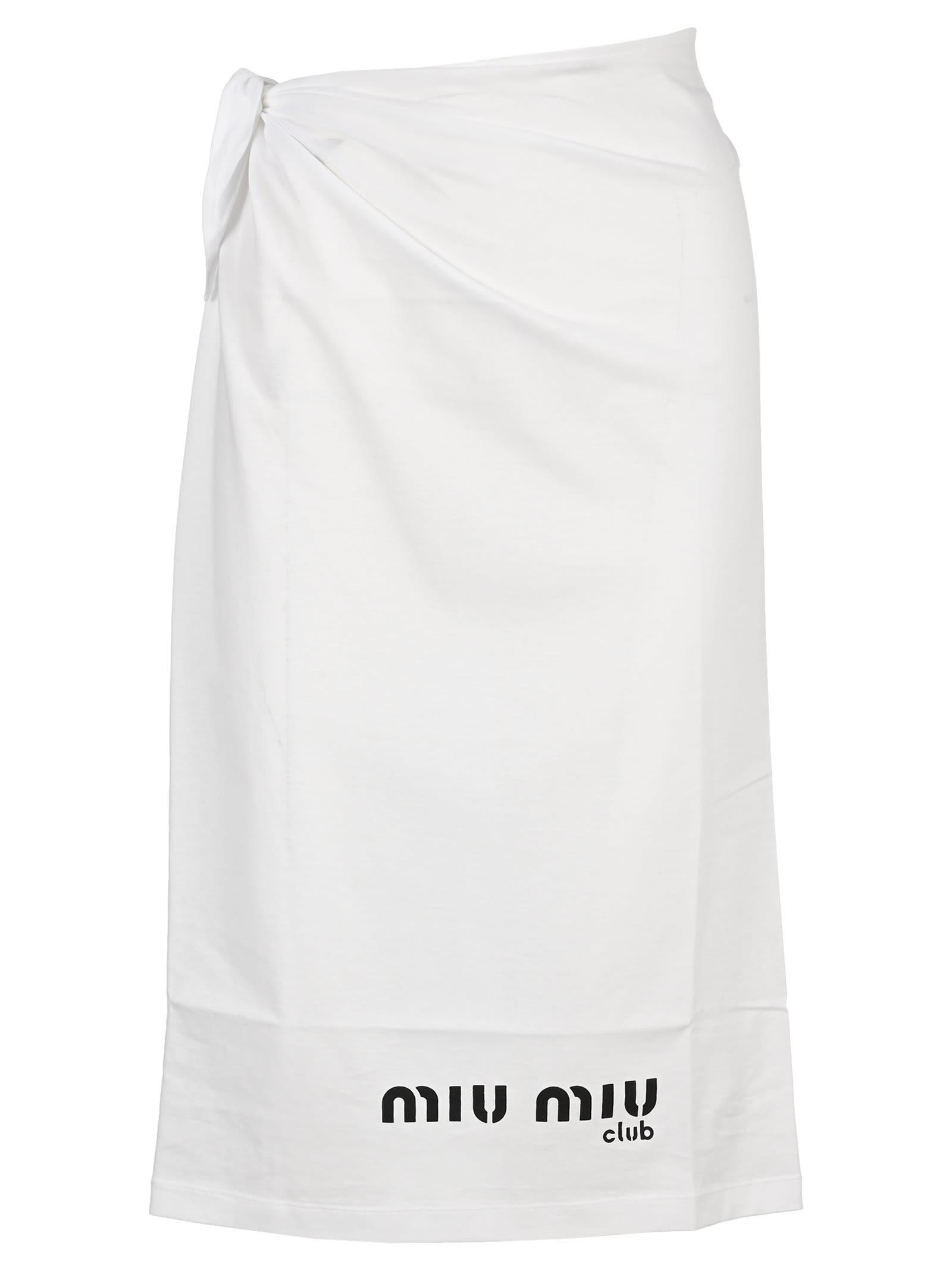 Miu Miu Wrap Skirt
