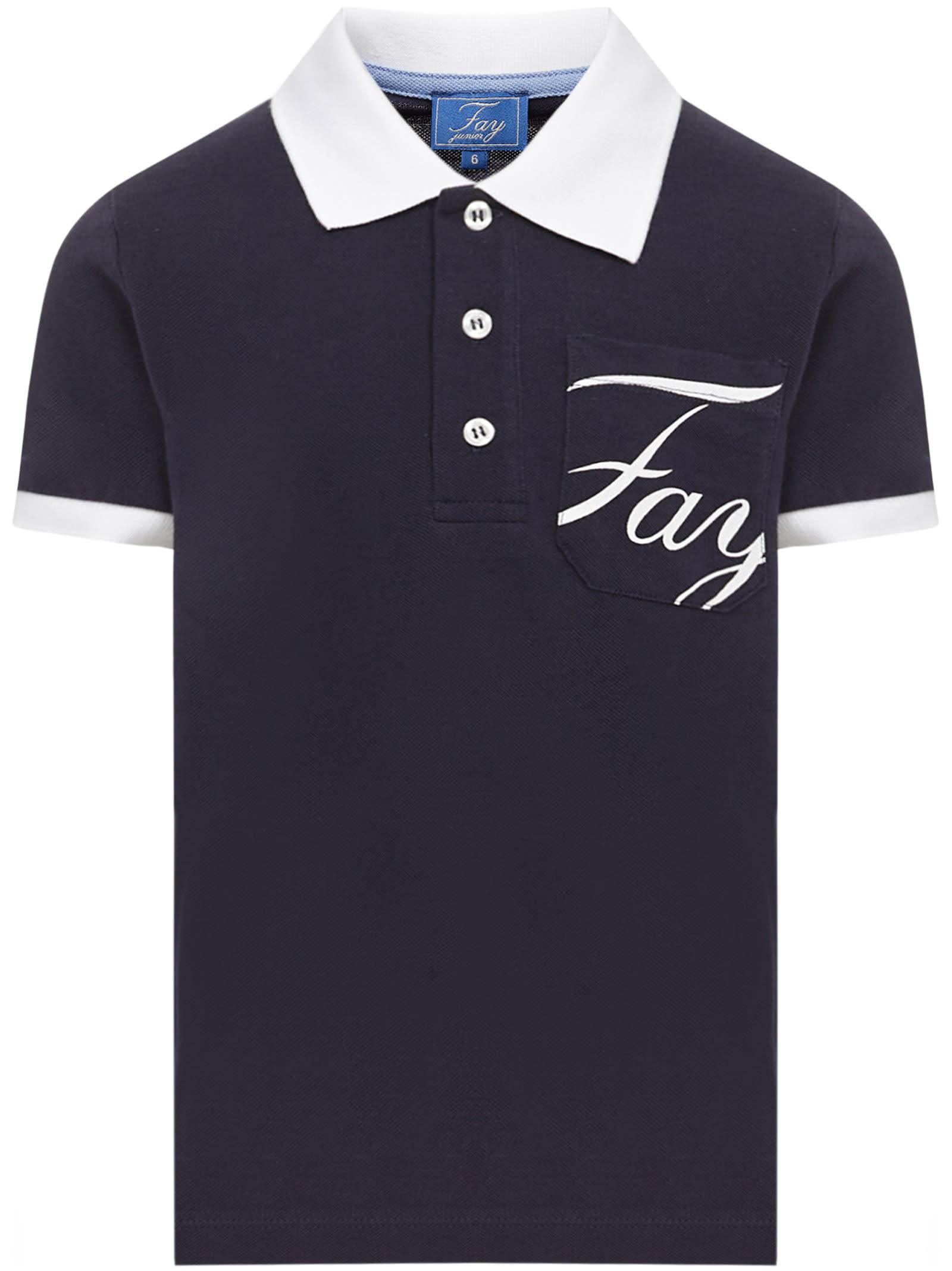 Fay Kids Polo Shirt