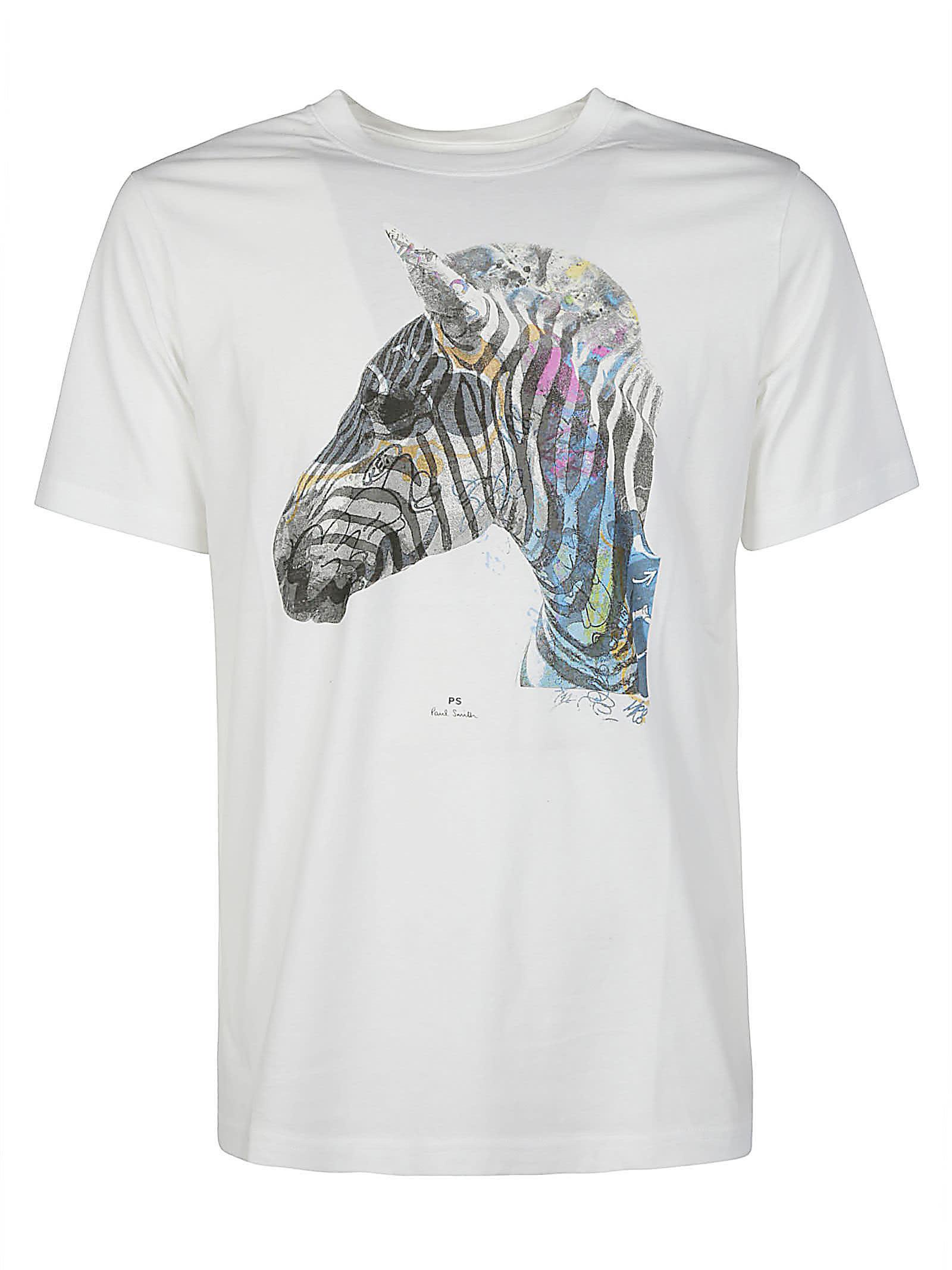 Regular Fit Graffiti T-shirt Paul Smith