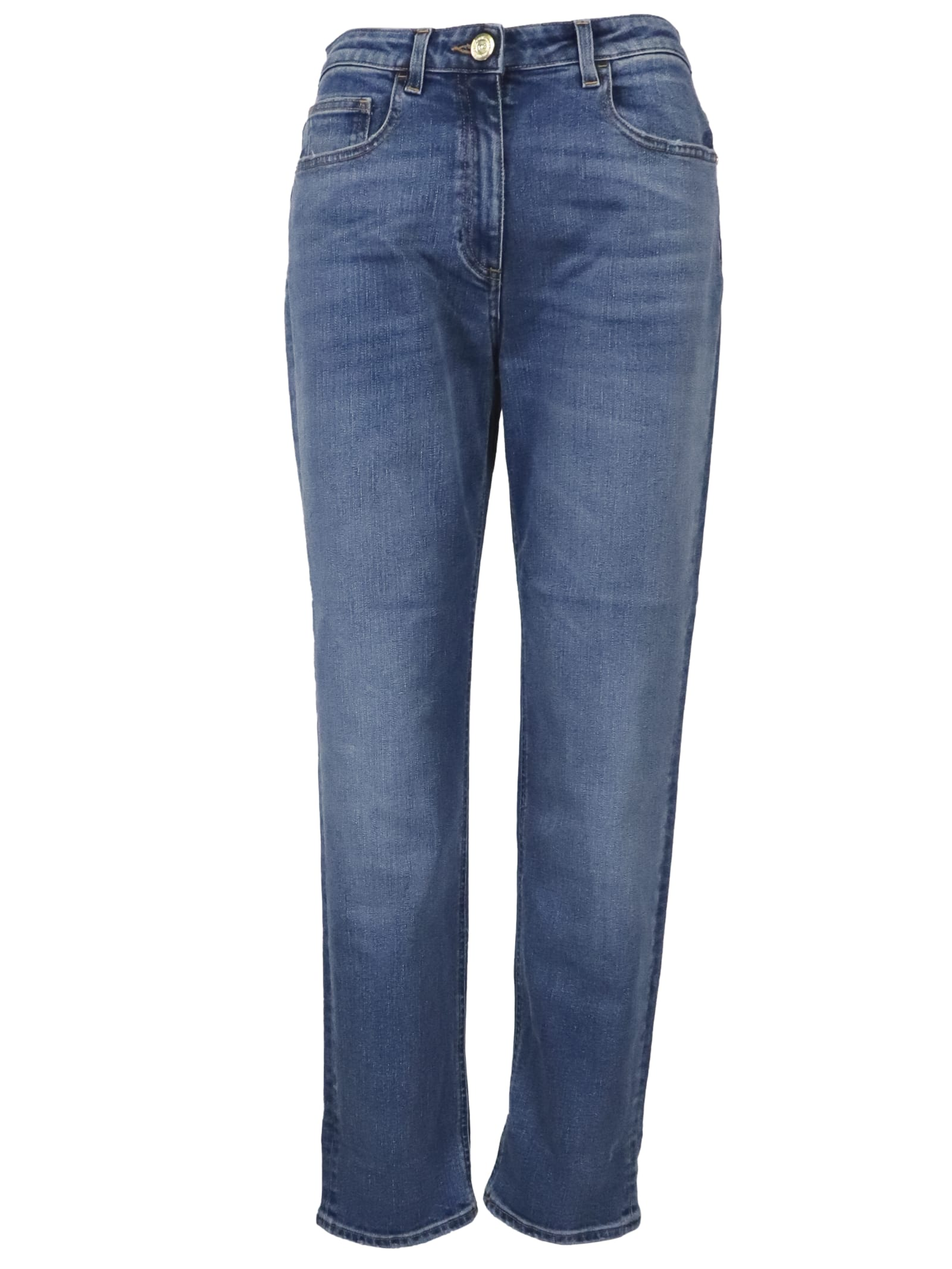 Elisabetta Franchi Celyn B. Light Blu Denim Jeans