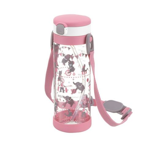 RICHELL 粉紅派對吸管冷水壺450ml