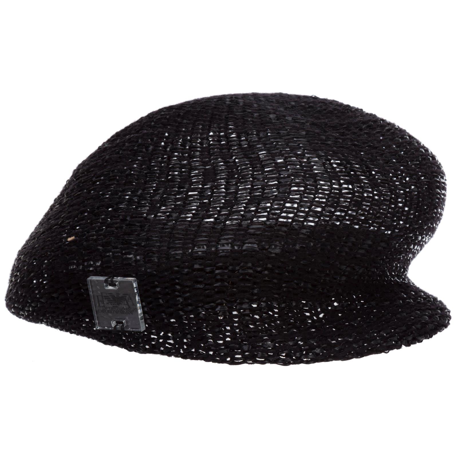 Emporio Armani Barrel Hat