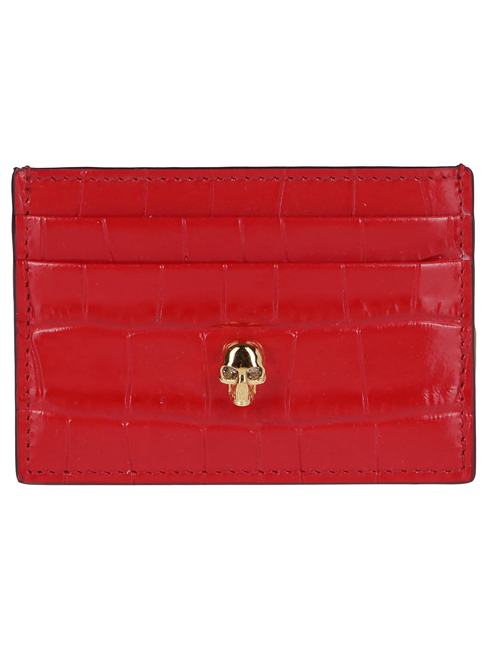 Red Leather Cardholder