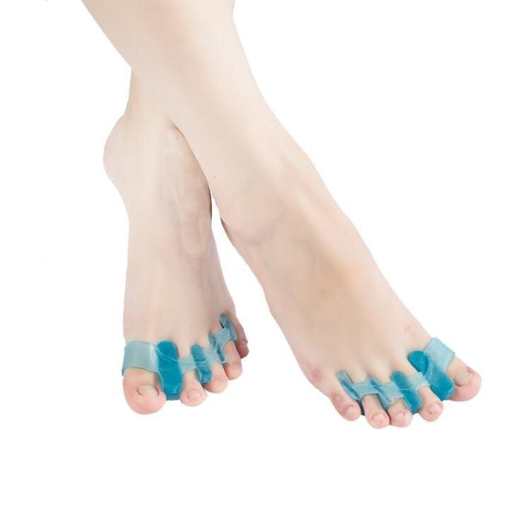 分趾器 寶足林腳趾重疊分趾器拇指外翻大腳骨矯正器硅膠腳趾分離器套日用 2021新款