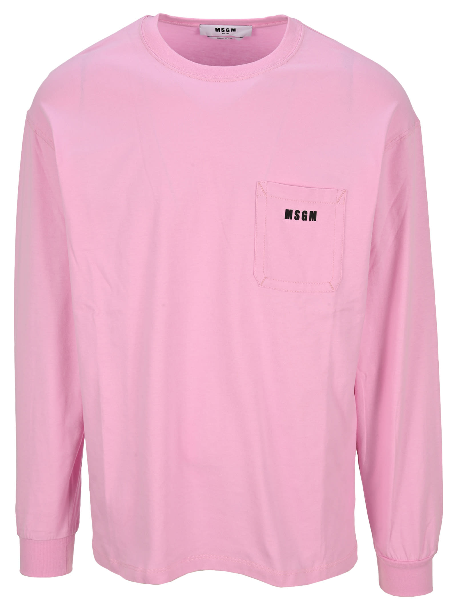 Msgm Chest Pocket T-shirt