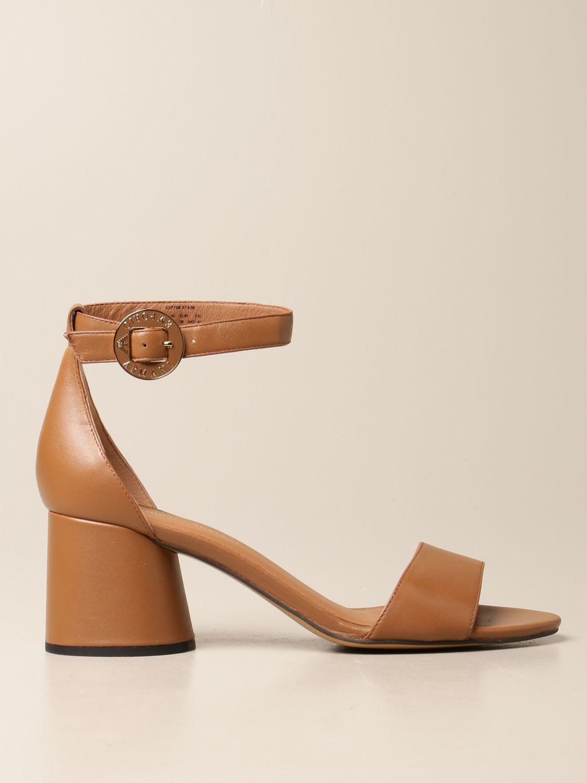 Emporio Armani Heeled Sandals Emporio Armani Leather Sandal
