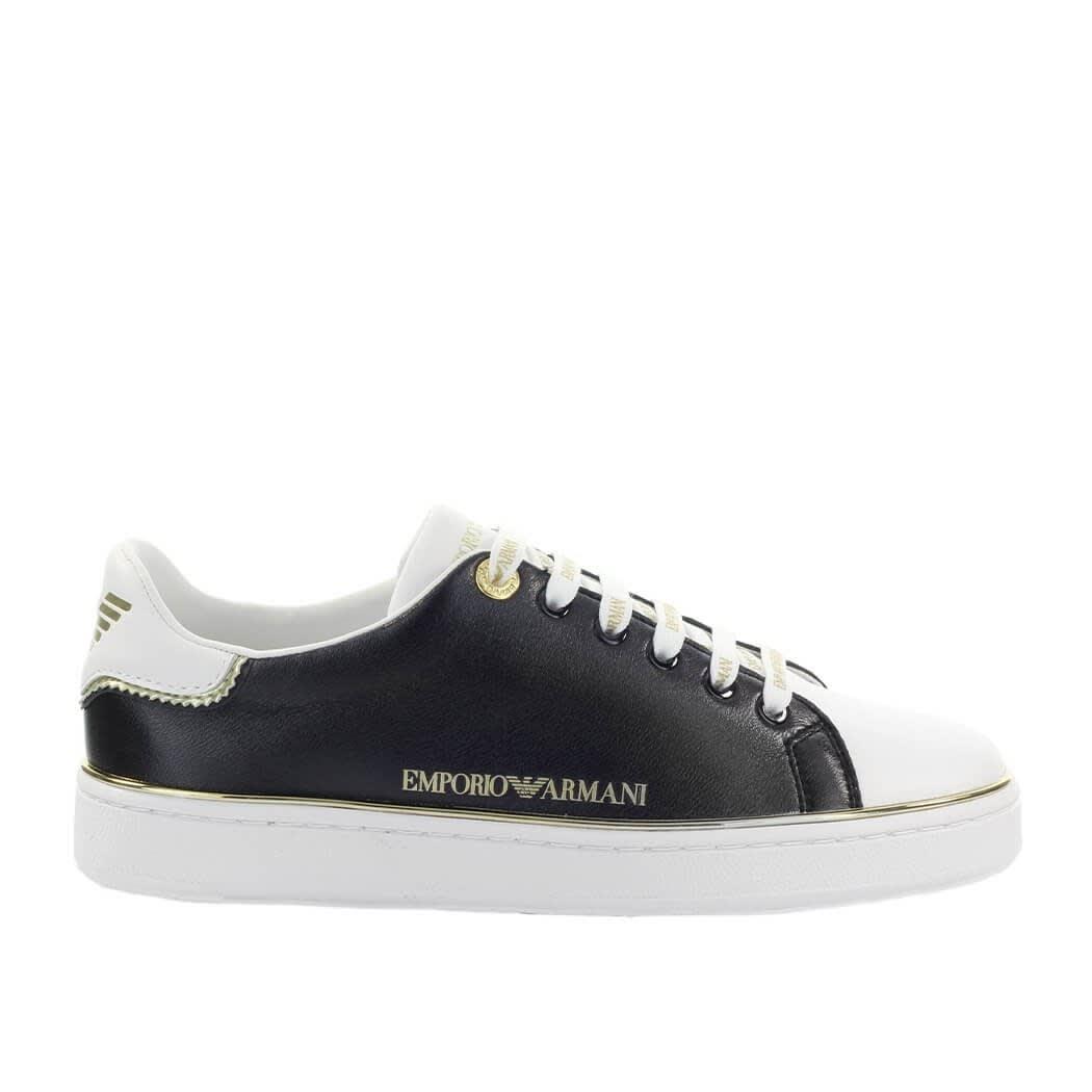 Emporio Armani Black White Sneaker