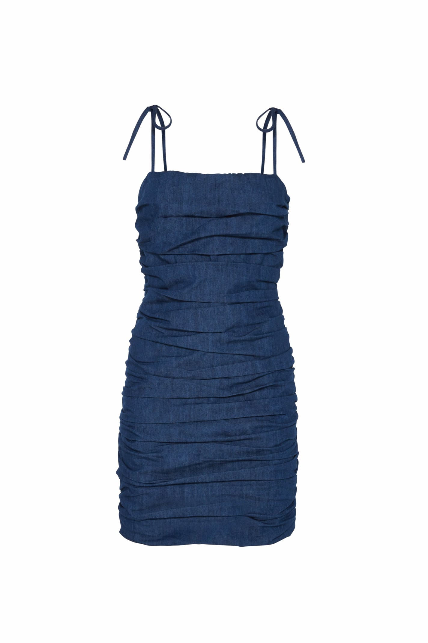 Zoe Mini Dress In Denim