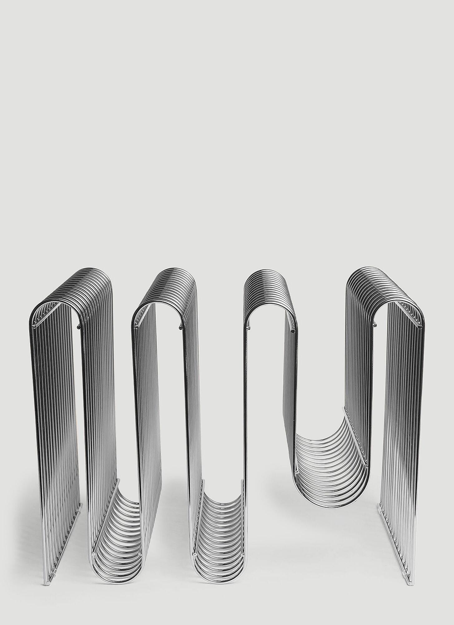 unisex Silver Iron, Stainless Steel.