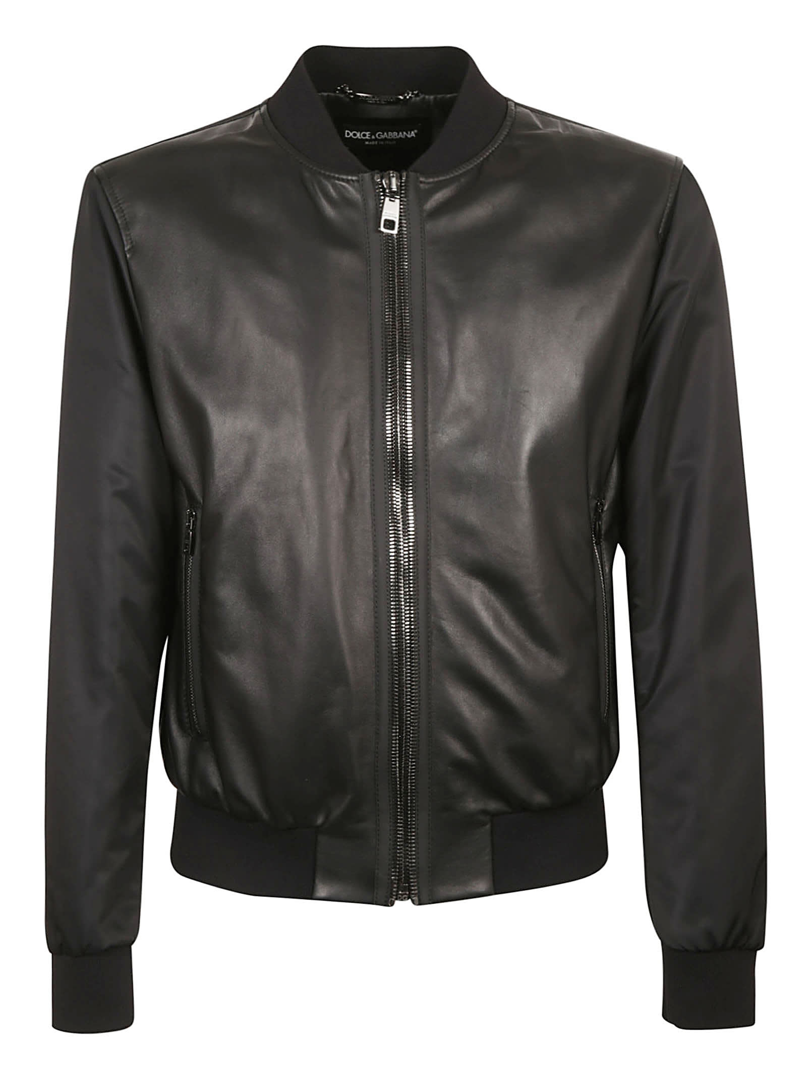 Classic Leather Bomber