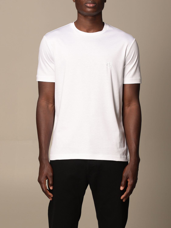 Giorgio Armani T-shirt Giorgio Armani T-shirt In Basic Cotton