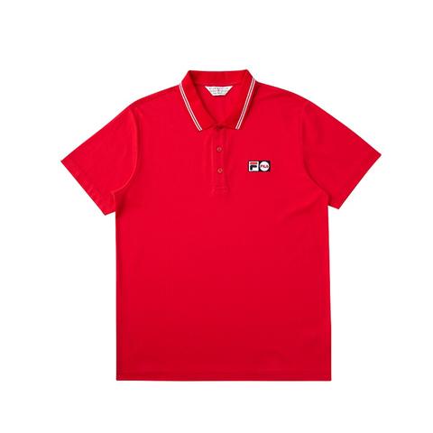 FILA POLO衫-紅色 1POV-1452-RD