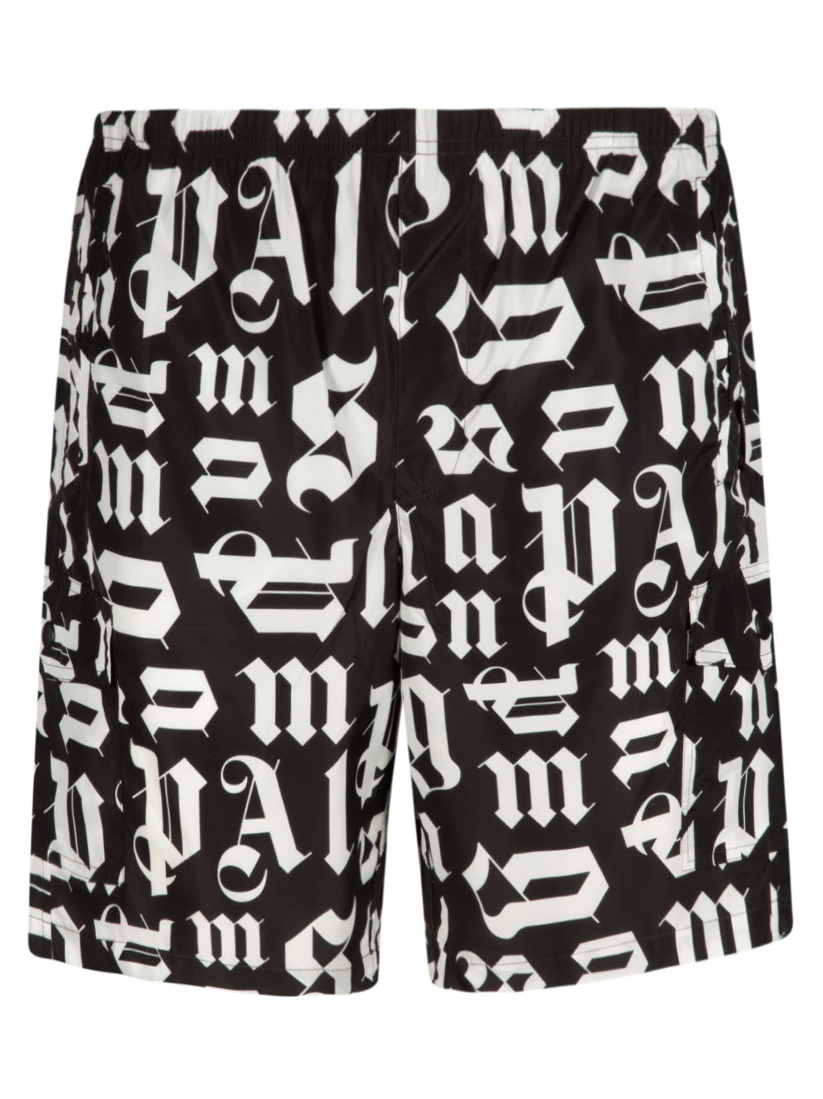 Palm Angels Broken Monogram Swim Shorts