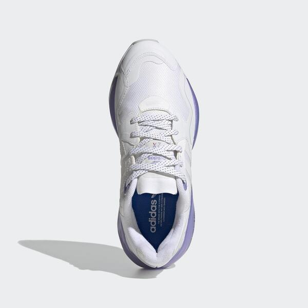 Adidas Zx Alkyne W [FX6376] 女鞋 運動休閒 舒適 太空風 愛迪達 舒適 銀白 紫
