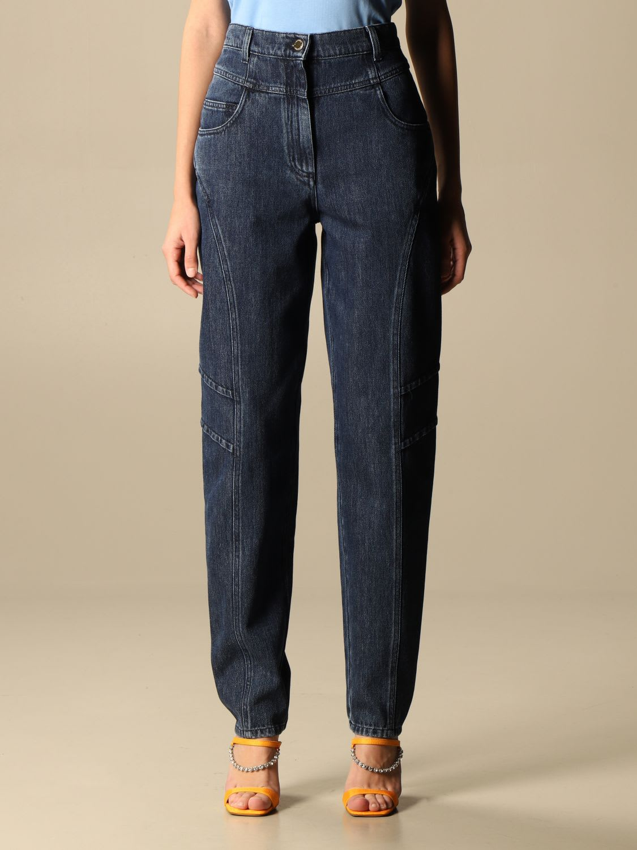 Alberta Ferretti Jeans High-waisted Alberta Ferretti Tapered Jeans