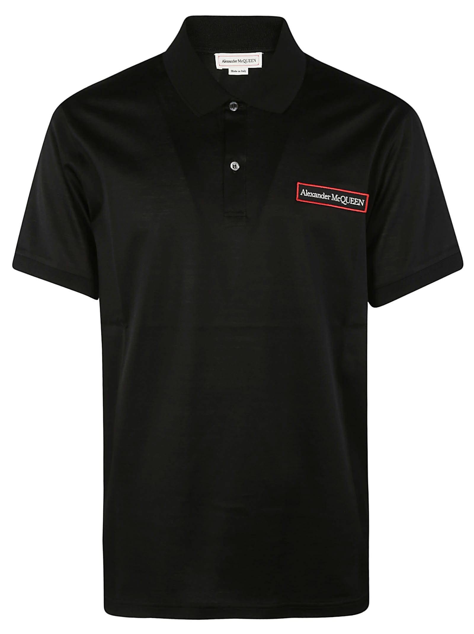 Chest Logo Embroidered Polo Shirt