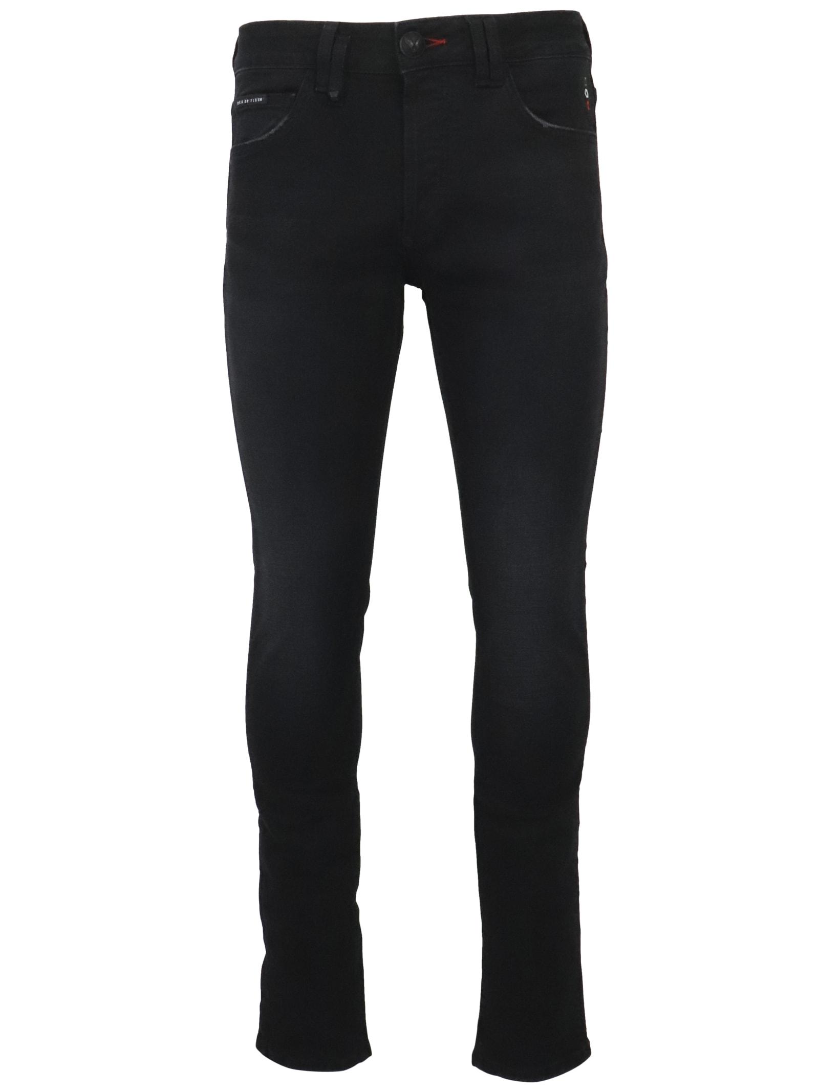 Philipp Plein Straight Supreme Istitut Jeans