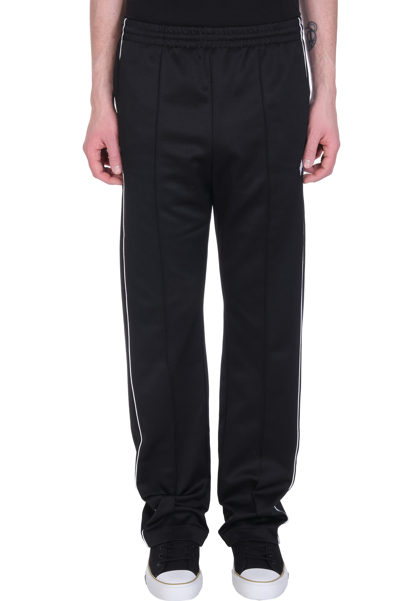 Pants In Black Polyester