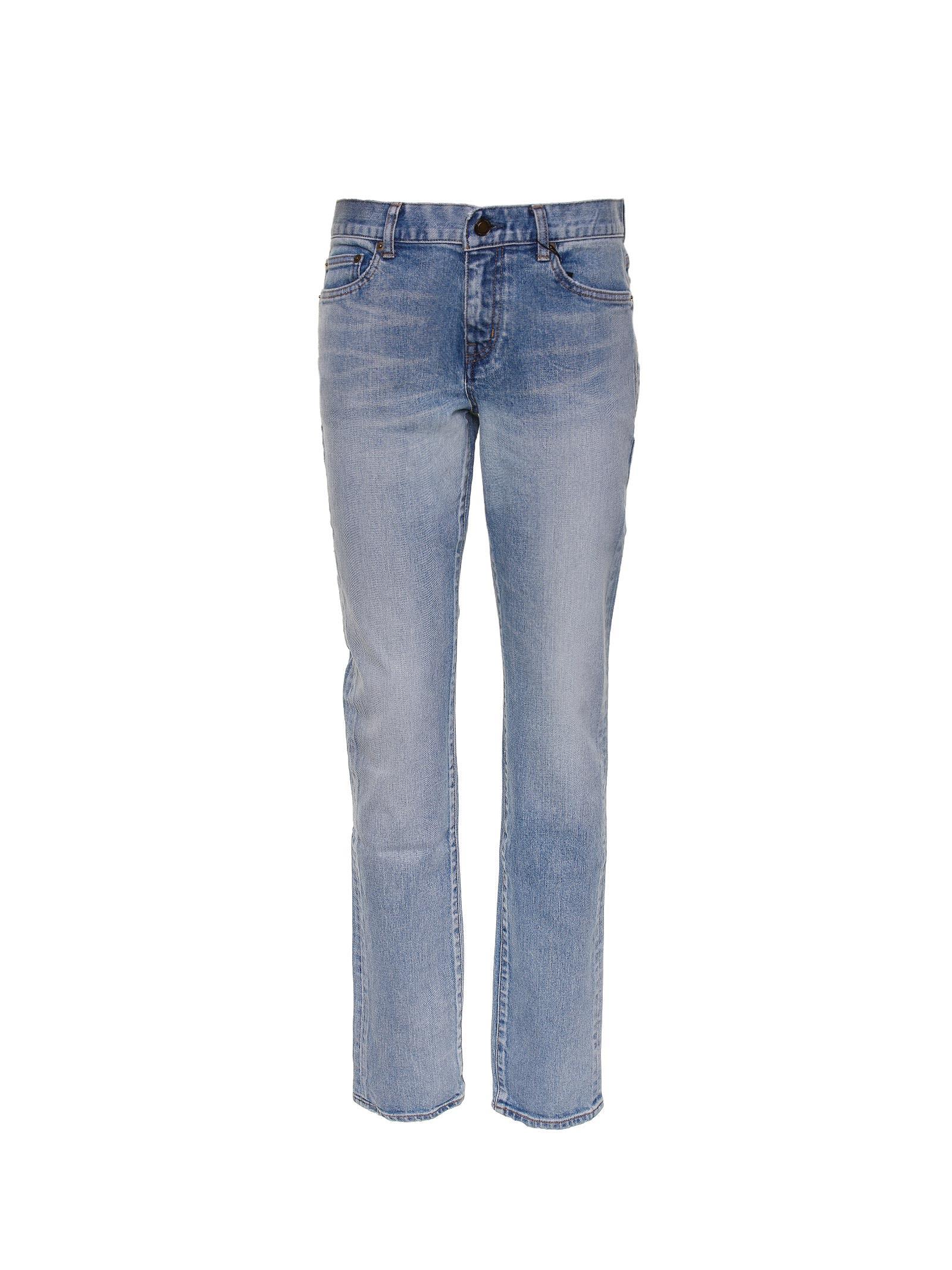 Saint Laurent Saint Laurent Low-rise Skinny Jeans