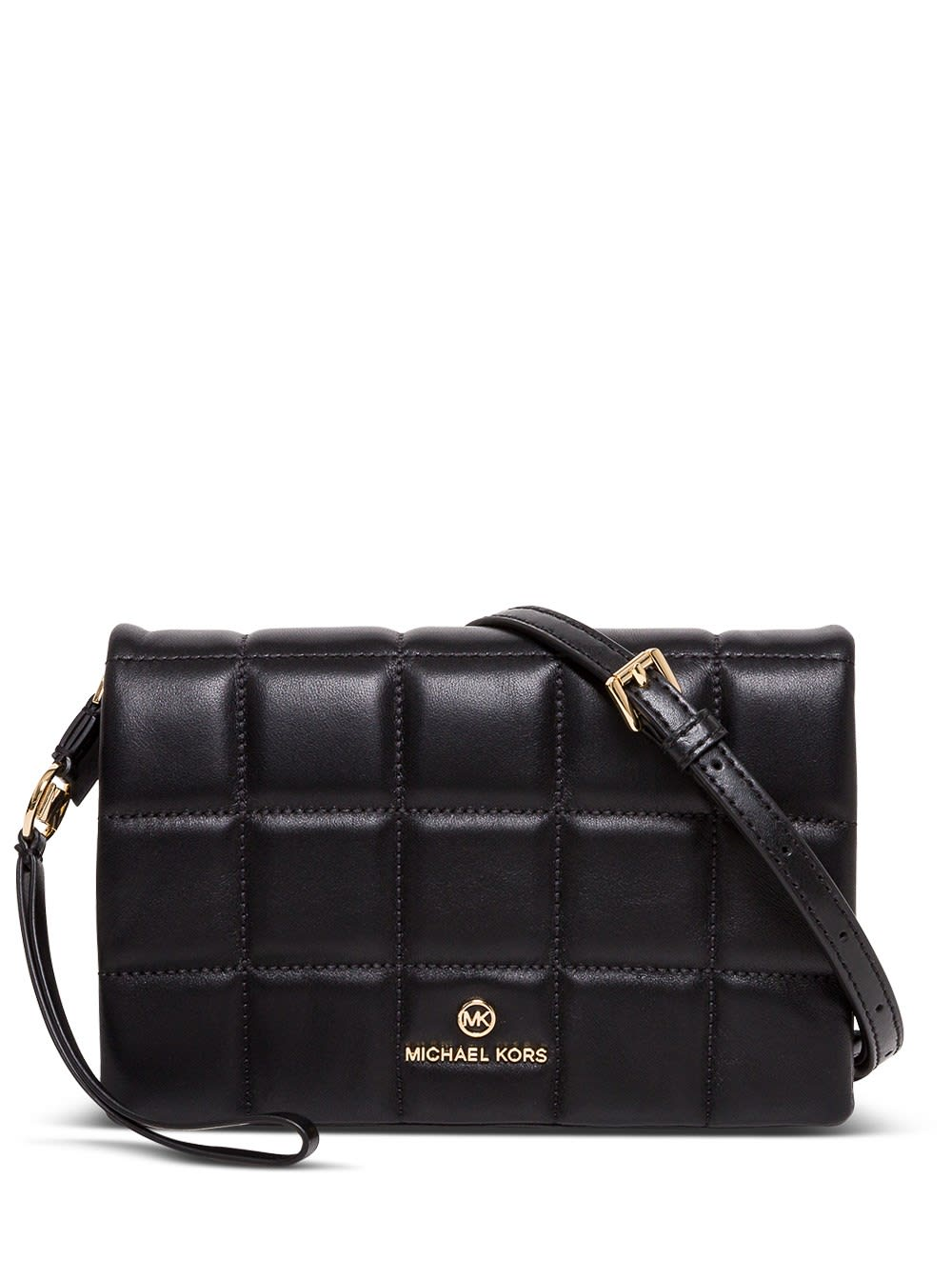 Michael Kors Jet Set Charm Medium Crossbody Bag In Quilted Leather