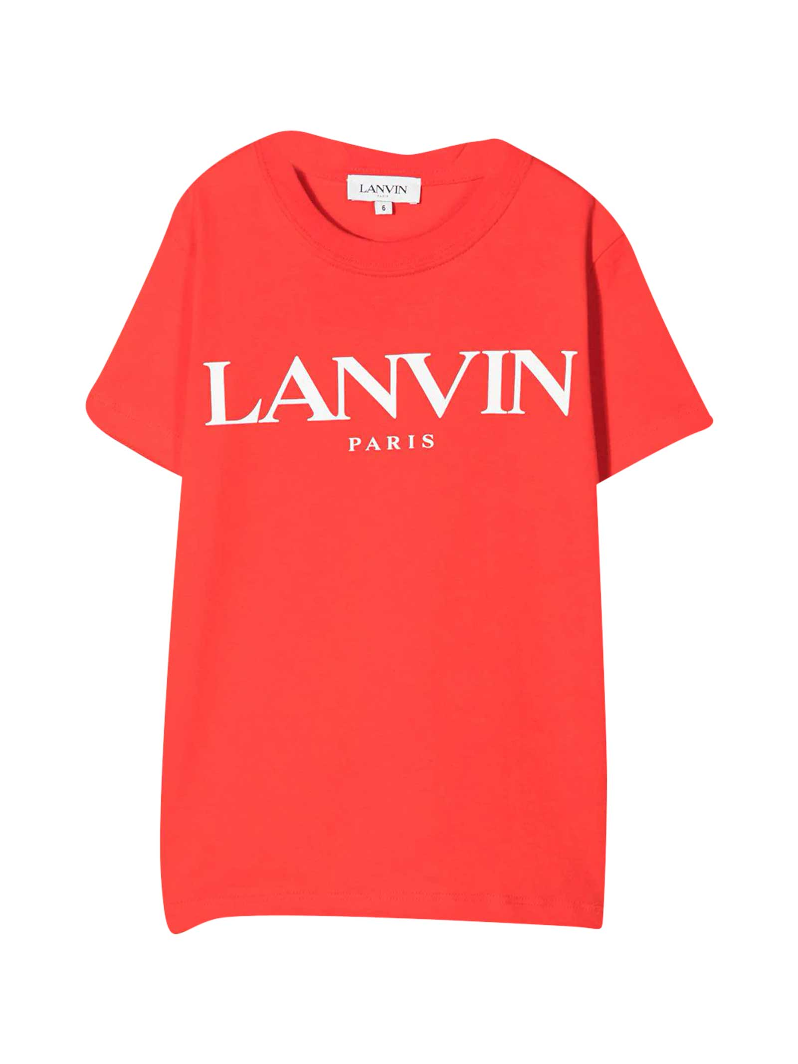 Lanvin Red T-shirt