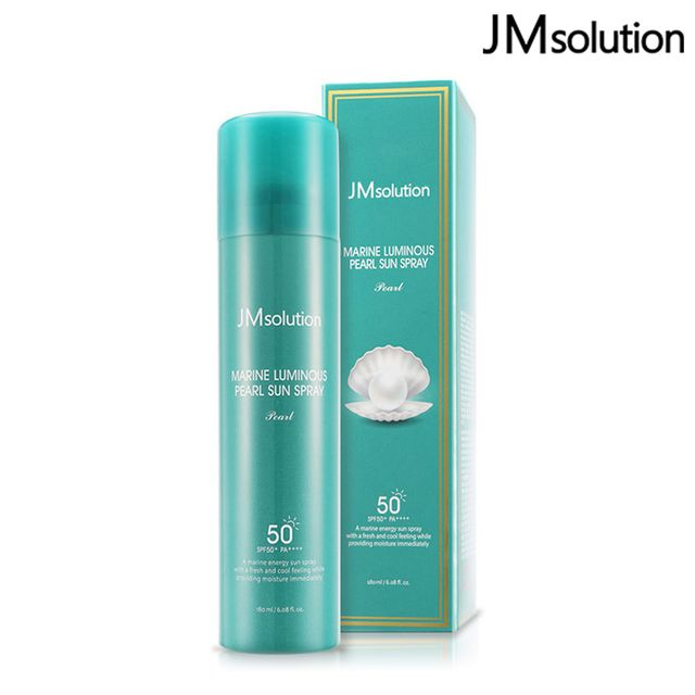 JMsolution 海洋珍珠防曬噴霧 SPF50+ PA++++ 180ml 韓國熱賣 防曬 抗紫外線 【SP嚴選家】
