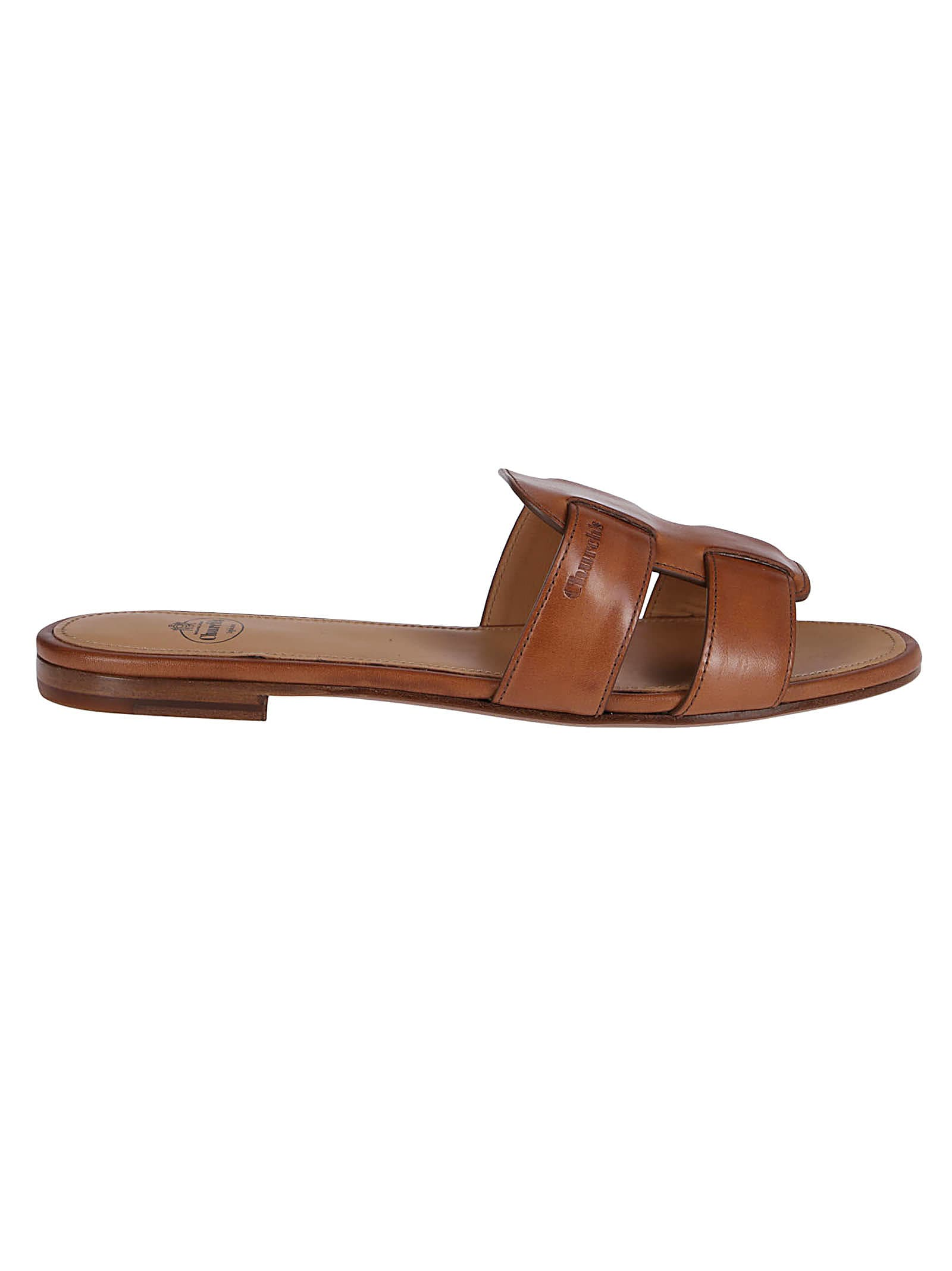 Brown Leather Dee Dee Sandals