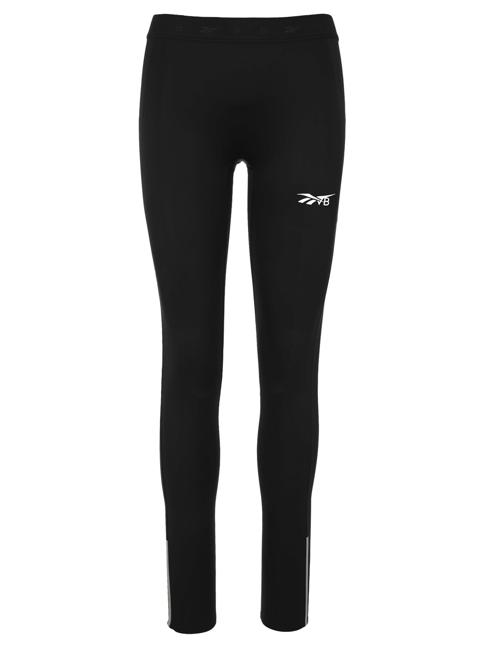 Reebok X Victoria Beckham Logo-print Low-impact Performance Leggings