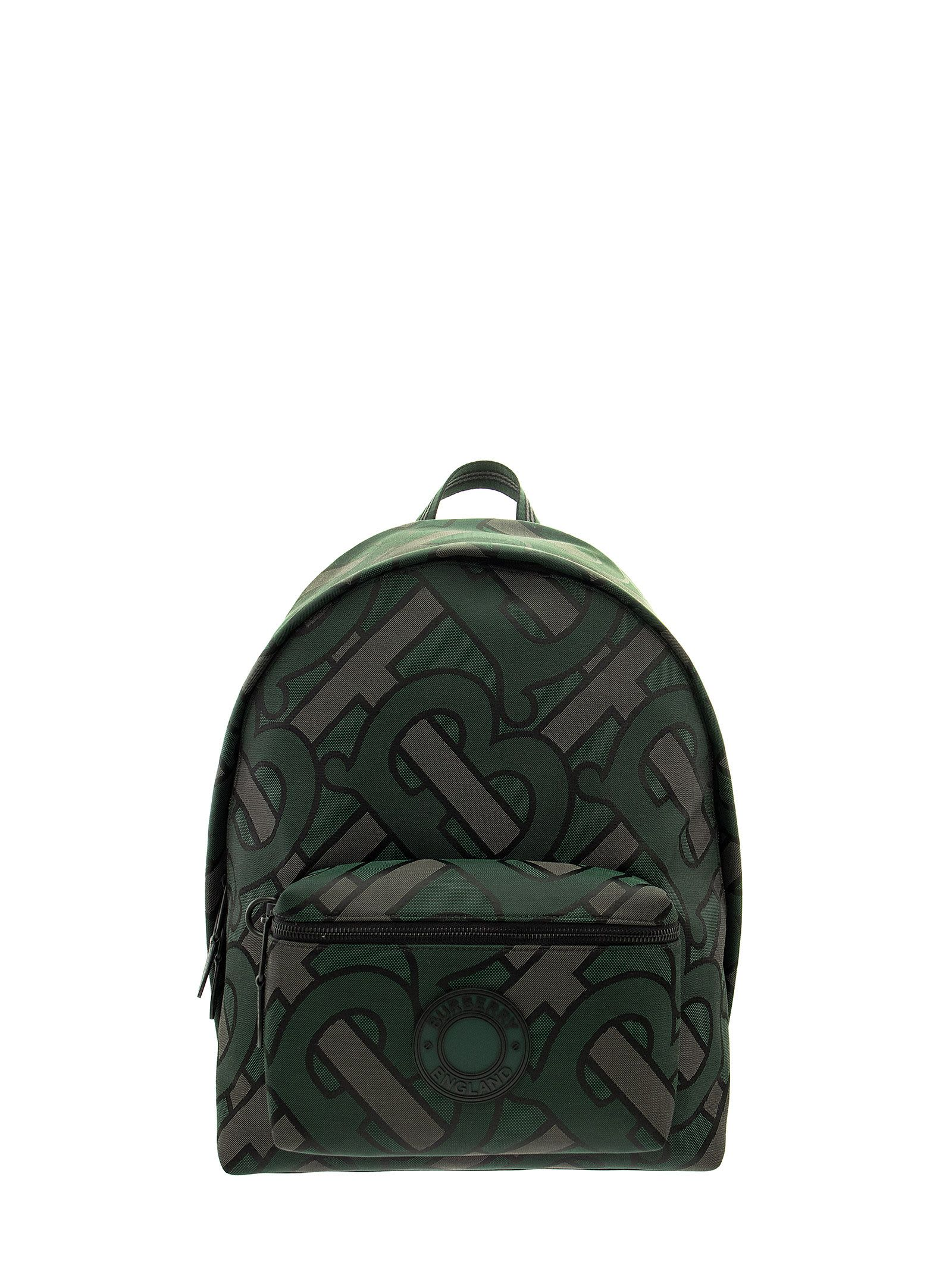 Burberry Jett - Monogram Recycled Polyester Jacquard Backpack
