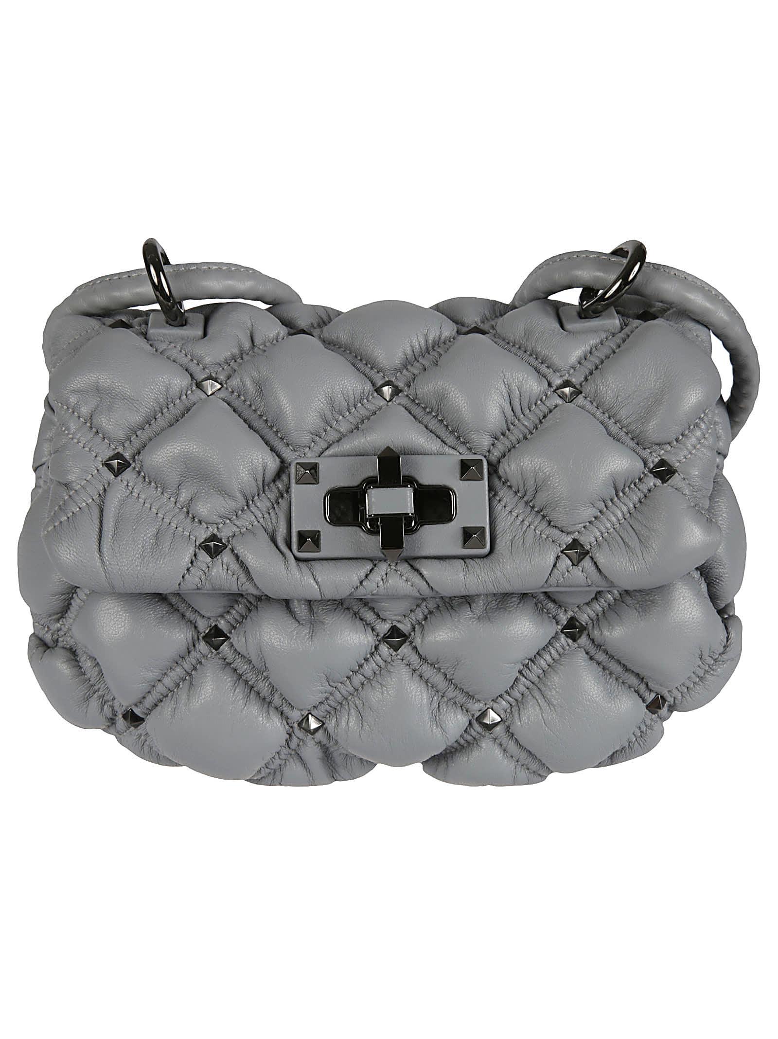 Valentino Garavani Small Spikeme Hobo Bag