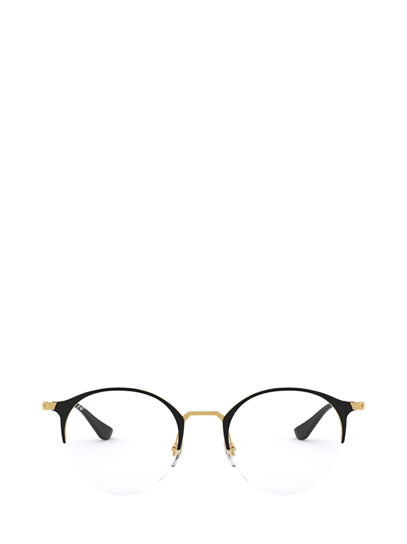 Ray-Ban Ray-ban Rx3578v Gold Top Shiny Black Glasses