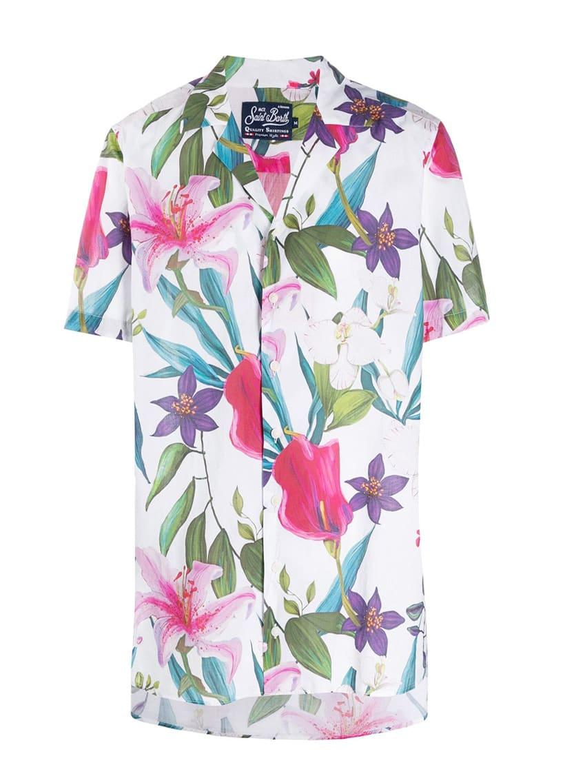 Tropical Vibes Jumbo Print Man Shirt #losangeles